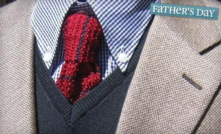 $200 Groupon to Rick's Tailoring and Menswear - Rick's Tailoring and Menswear in Overland Park
