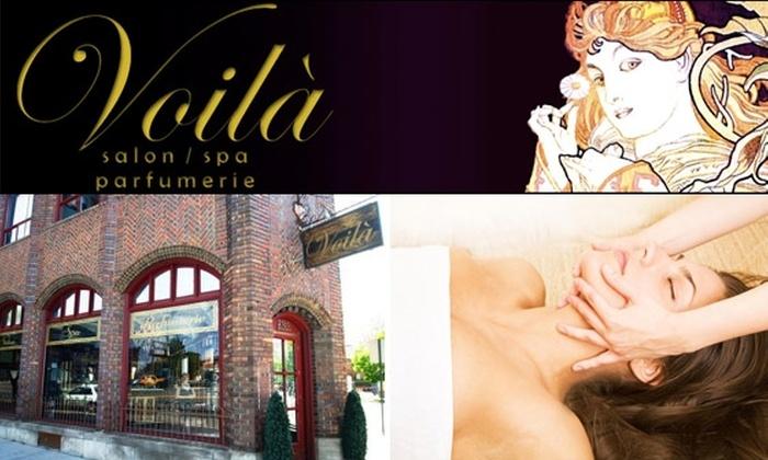 Voila Salon Spa Parfumerie - Five Points: $65 for Two One-Hour Facials at Voila Salon, Spa & Parfumerie