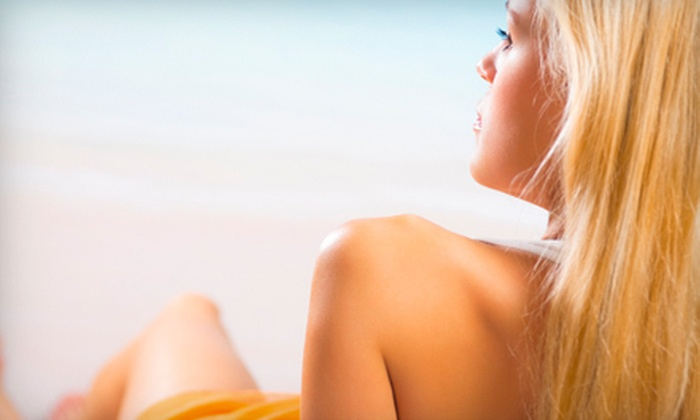 Tropical Resort Tans - Multiple Locations: Three Spray Tans or a One-Month Unlimited-UV-Tanning Package at Tropical Resort Tans in Virginia Beach (Up to 73% Off)