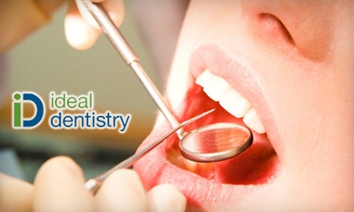 Ideal Dentistry - Prospect: $55 for Exam, Consultation, X-rays, and Cleaning at Ideal Dentistry ($313 Value)