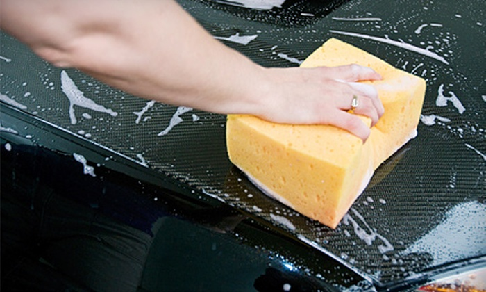 The Wash Wagon - Palm Springs: $44 for a Mobile Car Wash and Wax from The Wash Wagon ($99 Value)