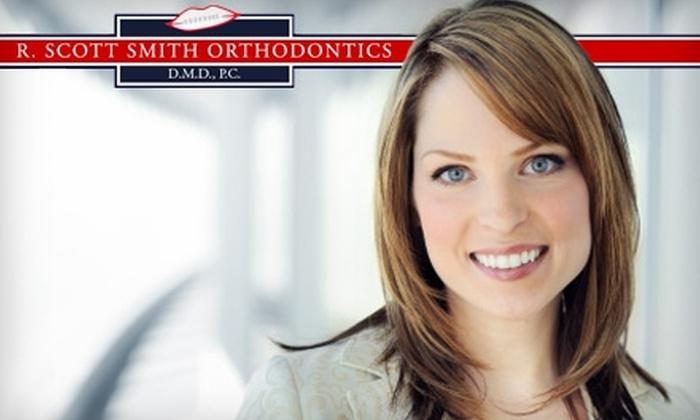 R. Scott Smith Orthodontics  - Multiple Locations: $49 for an Invisalign Exam, X-rays, and Impressions ($345 Value), plus $1,000 off Invisalign Treatment at R. Scott Smith Orthodontics