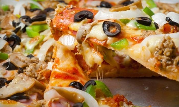 Fuzzy's Pizza - Mason Center: $7 for $15 Worth of Authentic Italian Fare at Fuzzy's Pizza in Katy