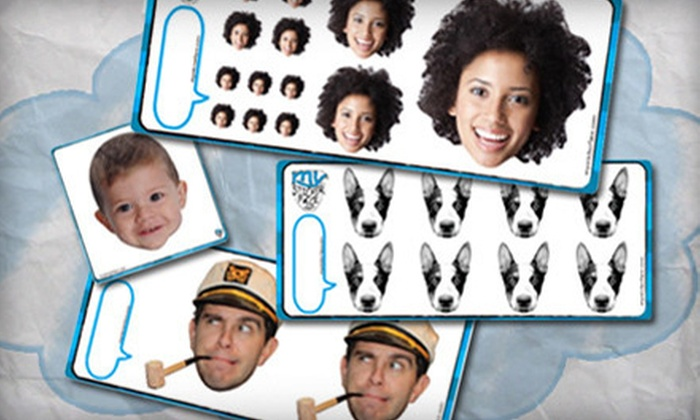 My Sticker Face.com: Custom Sticker Portraits from My Sticker Face (Up to 62% Off). Two Options Available.