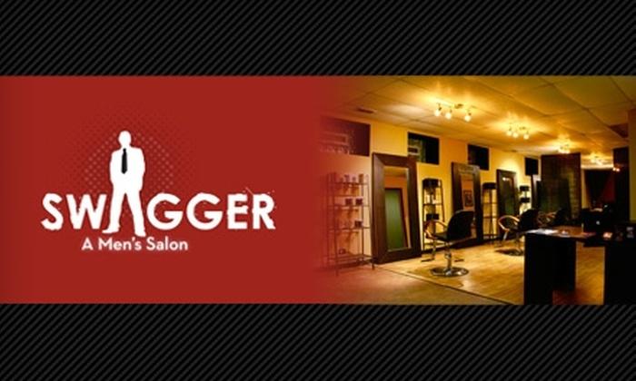 "Swagger, A Men's Salon - Wicker Park: $19 for ""The Usual"" Haircut ($39 Value) at Swagger, A Men's Salon"