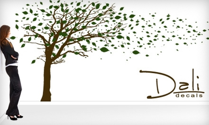 Dali Decals: $20 for $50 Worth of Wall Decals, Custom Canvases, and More from Dali Decals Online