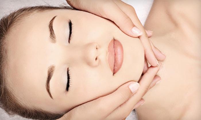 Salon MoDa' & Spa - Bercliff Estates: Haircut and Eyebrow Wax or European Facial at Salon MoDa' & Spa (Up to 55% Off)