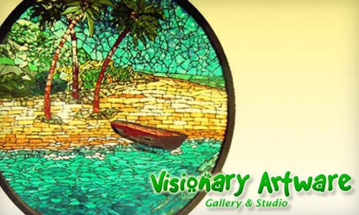 Visionary Artware - Belmont Heights: $42 for an Introductory Mosaic Tile-Making Class or Three Hours of Open-Studio Time at Visionary Artware in Long Beach ($85 Value)