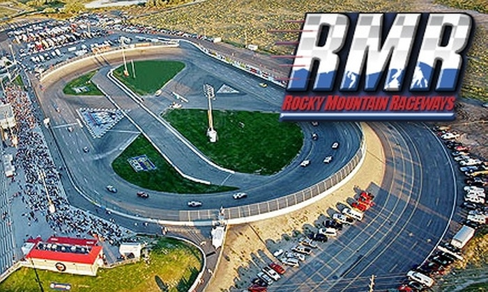 Rocky Mountain Raceways - West Valley City: $14 for Two Tickets and Popcorn at Rocky Mountain Raceways