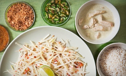 $20 Groupon to Blu Ginger Thai Cafe - Blu Ginger Thai Cafe in Irving