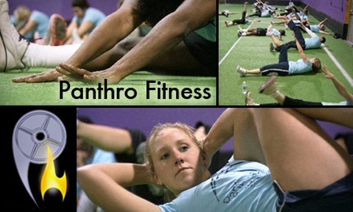 Panthro Fitness - Multiple Locations: $21 for a 21-Day Women's Weight-Loss Program at Panthro Fitness ($150 Value)