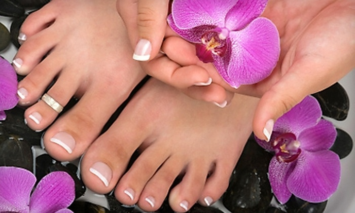 It's a Date at The Powder Room - Santa Rosa: $20 for Basic Pedicure ($40 Value) and $5 Off a Manicure at It's a Date at The Powder Room in Santa Rosa