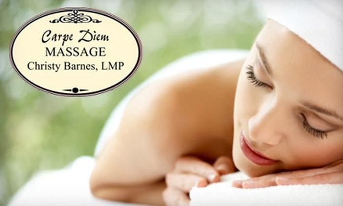 Carpe Diem Massage - New Tacoma: $35 for a One-Hour Deep-Tissue Massage at Carpe Diem Massage ($70 Value)