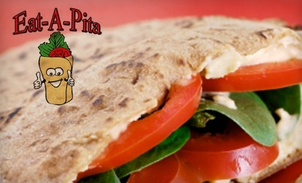 $10 Groupon to Eat-a-Pita - Eat a Pita in Charleston