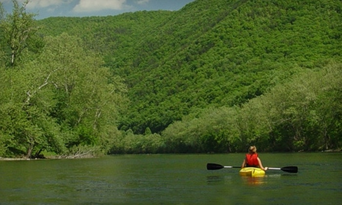 Twin River Outfitters - Roanoke: $30 for Two-Person Canoe or Kayak Trip from Twin River Outfitters in Buchanan (Up to $70 Value)