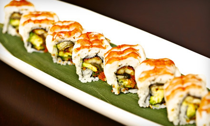 Makiman Sushi - Multiple Locations: $15 for $30 Worth of Japanese Fare at Makiman Sushi. Three Locations Available.
