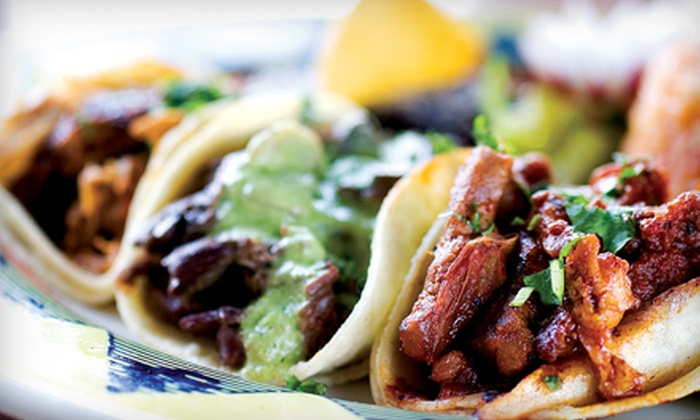 Zapatista - Northbrook: Authentic, Upscale Mexican Dinner for Two or Six at Zapatista. Two Locations Available.
