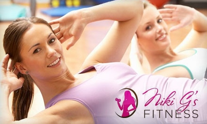 Niki G's Fitness - Brentwood: $60 for One Month of Unlimited Boot-Camp Classes at Niki G's Fitness ($220 Value)
