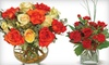 Touched by Flowers: $30 for $50 Worth of Floral Arrangements and Plants from Touched by Flowers ($59.95 Value)