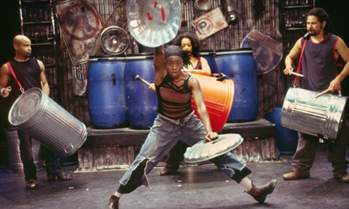 """""""Stomp"""" - Druid Hills: One Ticket to See STOMP at the BJCC Concert Hall on October 28 at 8 p.m. (Up to $55.80 Value)"""