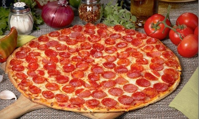 Romeo's Pizza - Multiple Locations: $10 for $20 Worth of Pizza and Italian Fare from Romeo's Pizza. Three Locations Available.