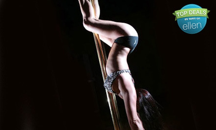 Sensual Souls - Oakwood: Five Pole-Dancing Classes or a Private Party for Up to 15 at Sensual Souls in Hollywood (Up to 55% Off)
