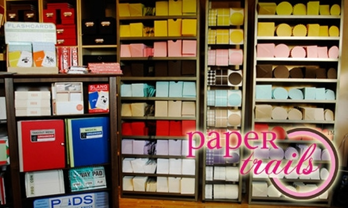 Paper Trails of Rocky River - Rocky River: $25 for $50 Worth of Stationery, Gifts, and More at Paper Trails of Rocky River