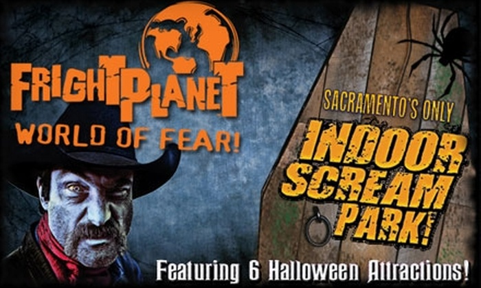 Fright Planet - Citrus Heights: $12 for One General-Admission Ticket to Fright Planet Indoor Scream Park ($25 Value)