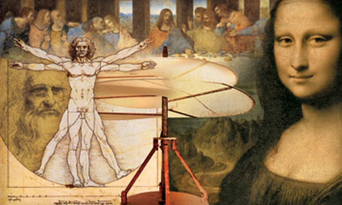 """Da Vinci - The Genius"" - Downtown Winnipeg: ""Da Vinci—The Genius"" Exhibit for One or Two Adults at the MTS Centre Exhibition Hall"