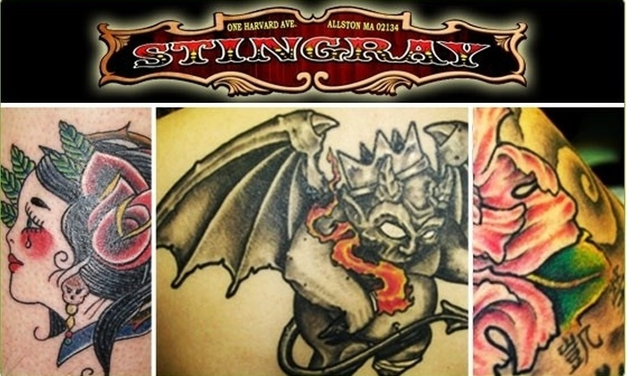 Stingray Body Art - Allston: Decorate Your Body with a Tattoo at a Premier Body Art Studio