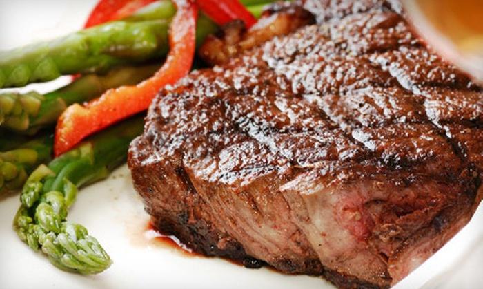 Harvey's Steakhouse - Huntington Beach: $20 for $40 Worth of Dinner at Harvey's Steakhouse in Huntington Beach