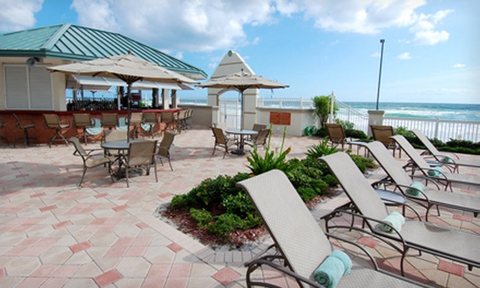 Daytona Beach Resort - Daytona Beach Resort Conference Center: $168 for a Two-Night Stay for Up to Four Adults in an Ocean View Standard Room at Daytona Beach Resort in Florida (Up to $339 Value)
