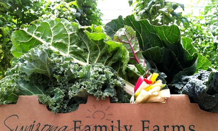 $11 for One Organic FarmBox Pickup from Sunizona Family Farms ($22 Value)