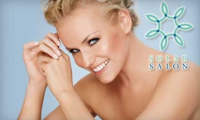 Solar Salon - Multiple Locations: $24 for Two Bed or Spray-Tanning Sessions at Solar Salon ($48 Value)