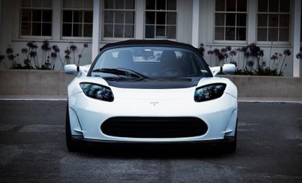 Full Day Tesla Roadster Sport Rental ($499 value) - HiGear in