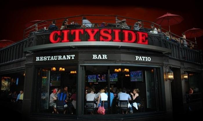 Cityside Restaurant & Bar - Boston: $12 for $25 Worth of Burgers, Sandwiches, and Salads at Cityside Restaurant & Bar in Brighton