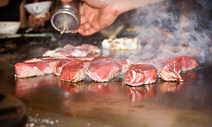 Osaka House - Fisher's Village - Orchards Area: $12 for $25 Worth of Japanese Teppanyaki Fare and Drinks at Osaka House in Vancouver