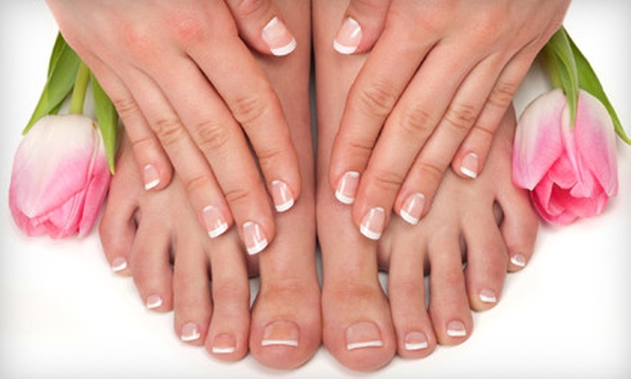Chi Energy Spa - Industrial Valley: Basic Mani-Pedi or Shellac Manicure and Spa Pedicure at Chi Energy Spa (Up to 52% Off)