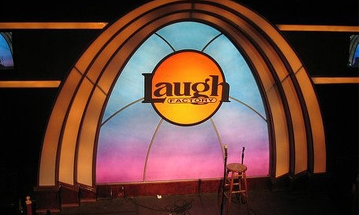 Laugh Factory - Downtown Long Beach: Ticket for Show at Laugh Factory. Choose Weekday or Weekend Tickets at Two Locations.