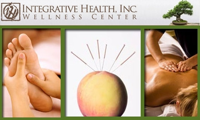 Integrative Health Inc - Denver: $50 for Choice of Massage, Acupuncture, Reflexology, and More at Integrative Health Wellness Center (Up to a $250 Value)