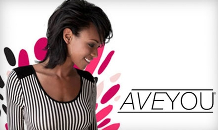 <i>AVE</i>YOU - Ocean: $25 for $50 Worth of Beauty Products at Avenue You Beauty Store
