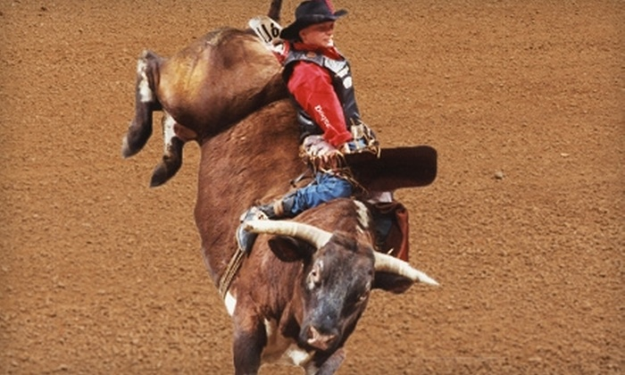 Resistol Arena- Mesquite Championship Rodeo - Rodeo Centre: $20 for Two Reserved Tickets to the Mesquite ProRodeo Series