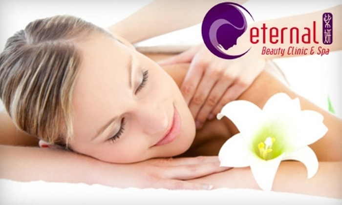 Eternal Spa - City Centre: $39 for One 45-Minute Shiatsu or Deep Tissue Therapy Massage at Eternal Spa in Richmond ($88 Value)