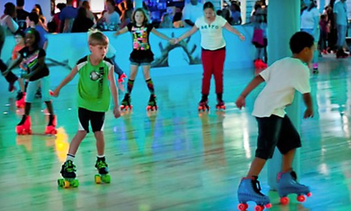 Fun Town - Indian River Groves And Gardens: All-Day Skating, Laser-Tag, and Playground Pass or Platinum Party Package at Fun Town in Melbourne