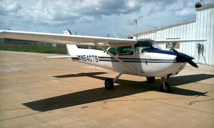 Skyview Aviation - Northwest Corpus Christi: $149 for 90-Minute Scenic Flight Tour of Corpus Christi from Skyview Aviation ($300 Value)