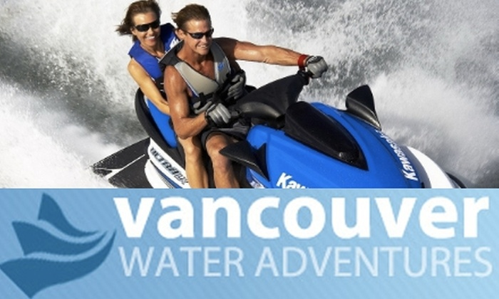 Vancouver Water Adventures - Downtown Vancouver: $133 for a Tandem Jet Ski Tour with Vancouver Water Adventures