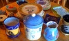 null - San Clemente: $30 for a Two-Visit Clay Play Session ($60 Value) or $49 for a Three-Week Group Pottery Class at Fired Up San Clemente ($100 Value)