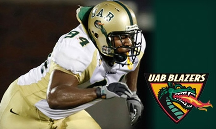 UAB Football - Five Points South: $8 for One Ticket to See the UAB Blazers vs. the Memphis Tigers in the Battle for the Bones at Legion Field (Up to $20 Value)