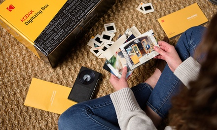 Professionally convert Tapes, Film and Photos to Digital with KODAK (Up to 60% Off). Four Options Available.
