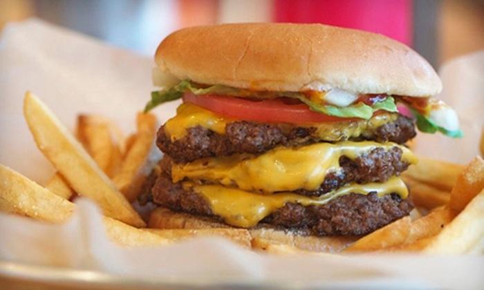 Jake's Wayback Burgers - Springfield: $8 Worth of Burgers, Shakes, and Diner Food